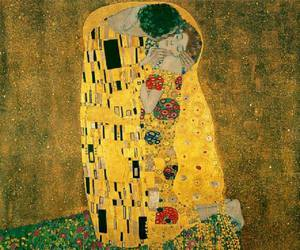 art, kiss, and klimt image