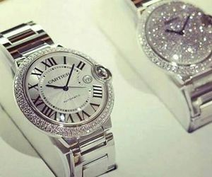 watch, cartier, and luxury image