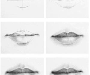 art, boca, and desenho image