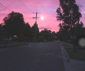 pink, sky, and purple image