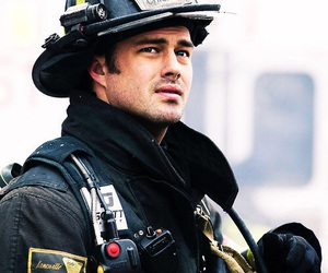 chicago fire, taylor kinney, and kelly severide image
