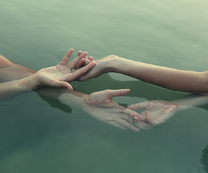 delicate, hands, and lovers image
