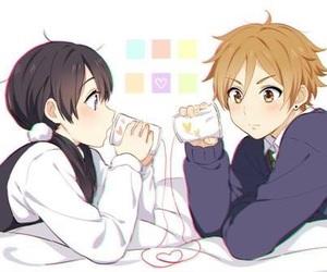anime, couple, and tamako market image