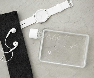 earphones, fashion, and music image