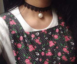 choker, fashion, and amycore image