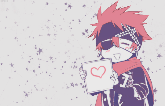 d.gray-man and lavi image