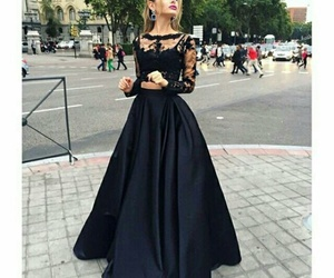 dress and black image