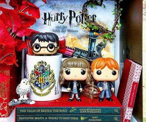 bookish, books, and harrypotter image