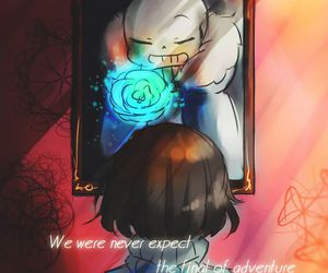 game, sans, and crossover image