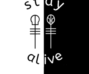 black and white, backgrounds, and clique image