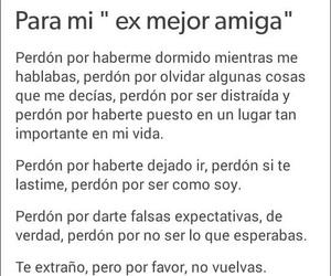 Para Mi Ex Mejor Amiga On We Heart It