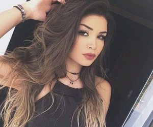 girls, pretty, and makeup image