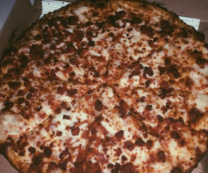 delicious, pizza, and tumblr image