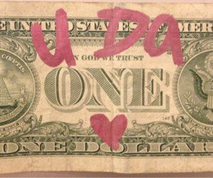 money, pink, and theme image