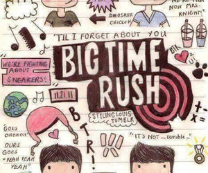 big time rush, btr, and Kendall image
