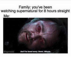 family and supernatural image