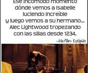 cazadores de sombras, alec, and lightwood image