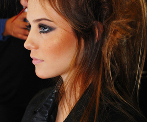 cat eye, chic, and make up image