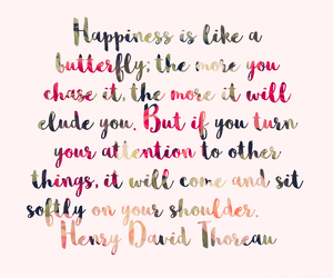 happiness, inspiring, and quotes image