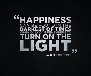 quote, harry potter, and happiness image