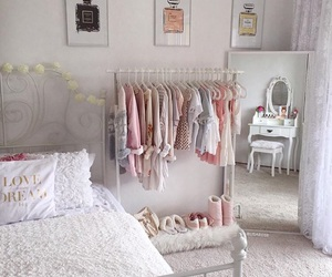 room, pink, and goals image