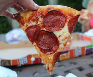 pizza, food, and tumblr image