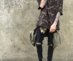 camo, street style, and style image