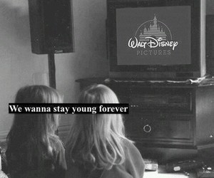 disney, young, and black and white image