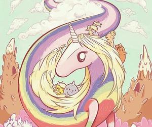 unicorn, adventure time, and lady rainicorn image