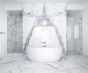 bathroom, luxury, and classy image