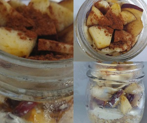 breakfast, oats, and overnight oats image