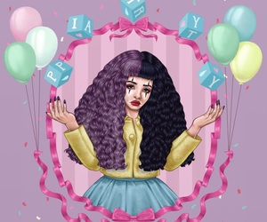 melanie martinez, pity party, and crybaby image