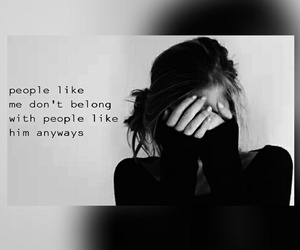 black and white, crush, and quotes image