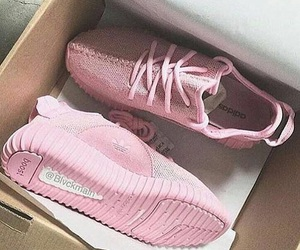 pink, shoes, and yeezy image