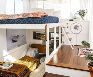 boat, home, and interior image
