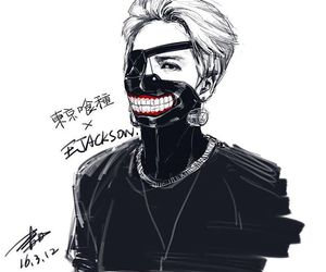 art, tokyo ghoul, and got7 image