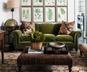 beige, decor, and green image