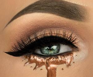 eyeliner and makeup image
