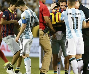 fans, lionel messi, and copa america image