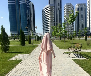 Dubai, hijab, and muslima image