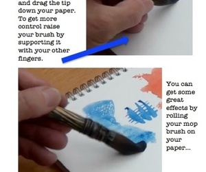 paintings, watercolor, and watercolor tips image