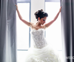 bride, dress, and events image