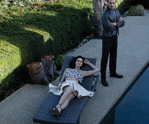 Claire, jamie, and photoshoot image