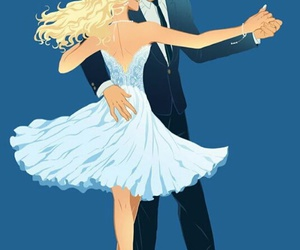 dance, percy jackson, and annabeth chase image