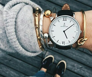 arm candy, girl, and watch image