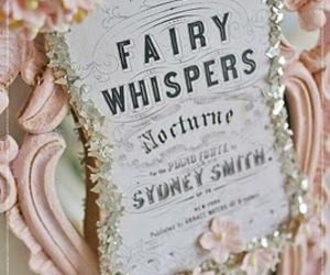 fairy, pink, and whispers image
