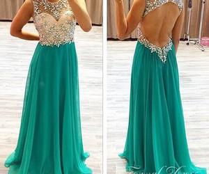 dress, prom dresses, and prom dress image