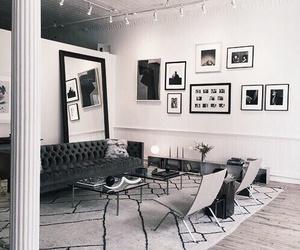 black, design, and living image