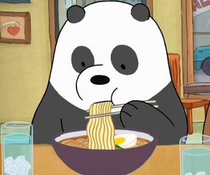 panda, cute, and we bare bears image