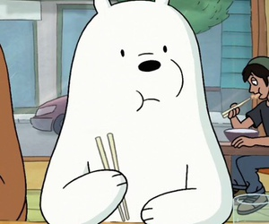 we bare bears, grizz, and panpan image